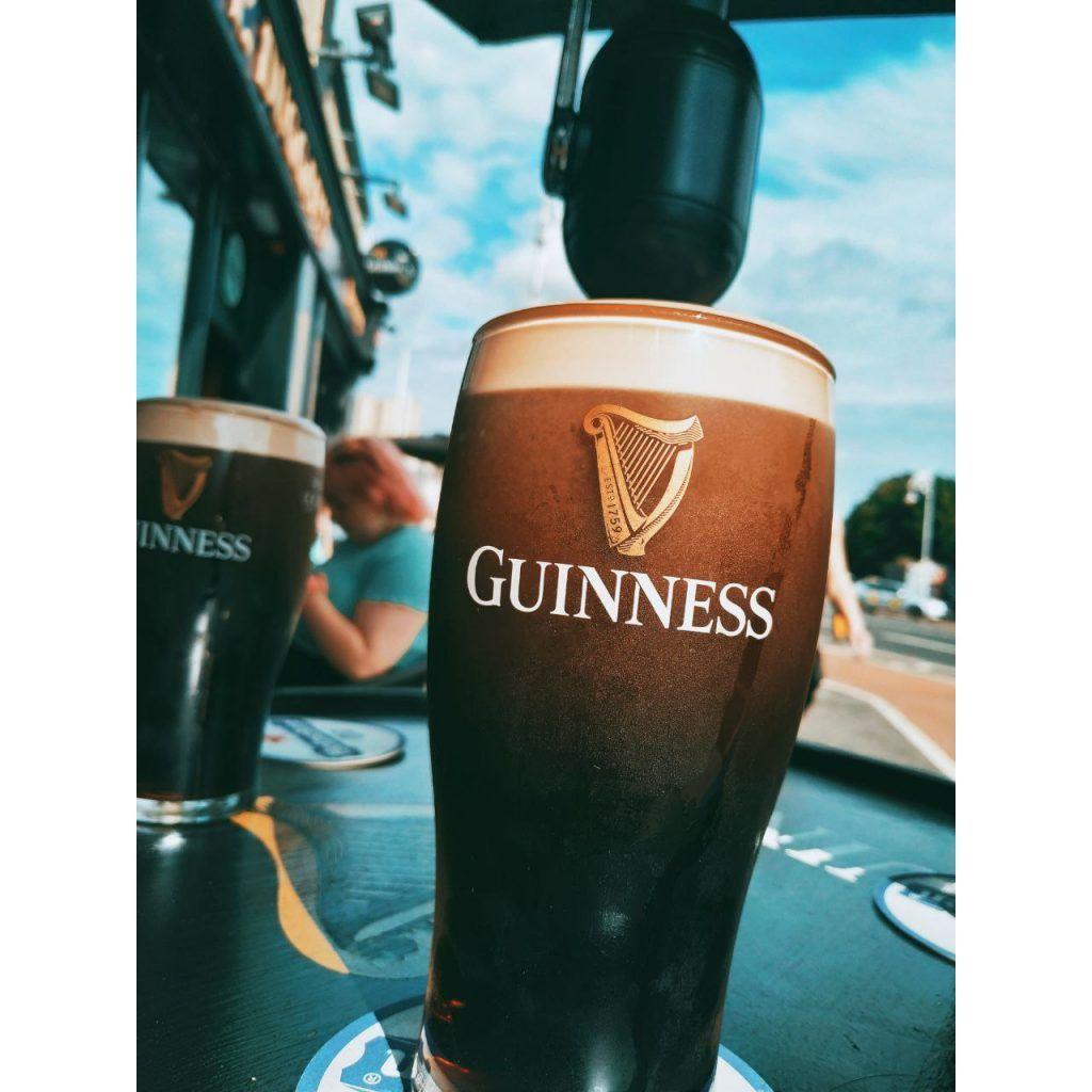 Guiness cerveza negra Dublín